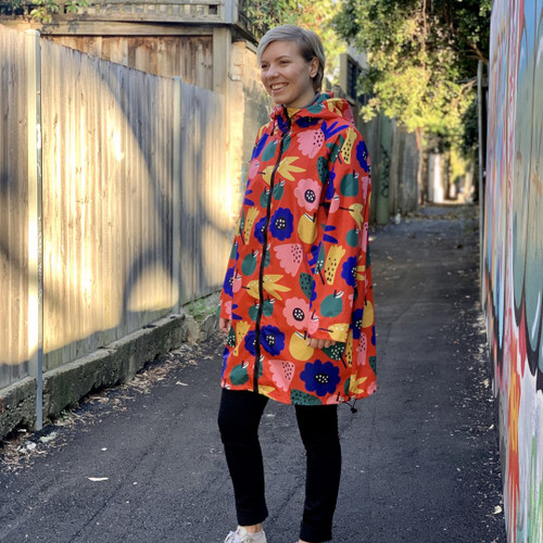 Raincoat - Summer Flowers