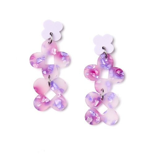 Martha Jean - Fraya Earrings - Lilac