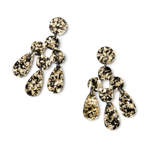 Martha Jean - Zara Earrings - Gold
