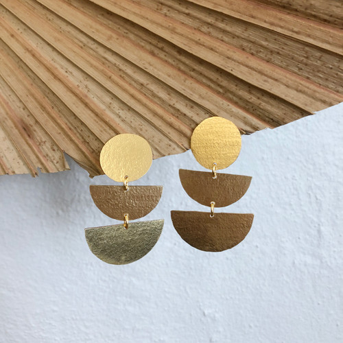 INARTISAN - BEA EARRINGS - GOLD