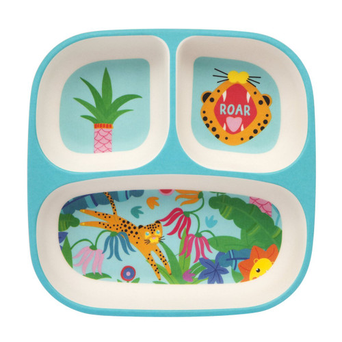 SUNNYLIFE - ECO KIDS PLATE | JUNGLE