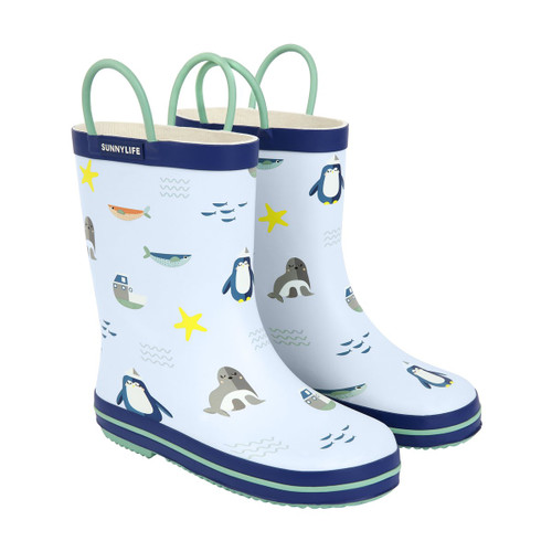 SUNNYLIFE - KIDS RAIN BOOT / GUMBOOT 5-6 | EXPLORER