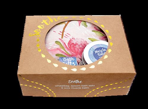 Wheatbag Soothe Pack - Pink Waratah Lavender