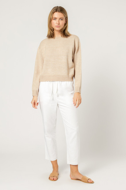 NUDE LUCY - Otis Knit-  Cream Marle