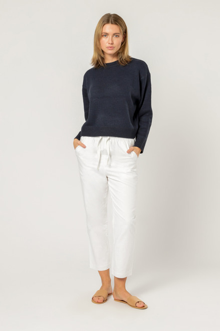 NUDE LUCY - Otis Knit-  Washed Navy