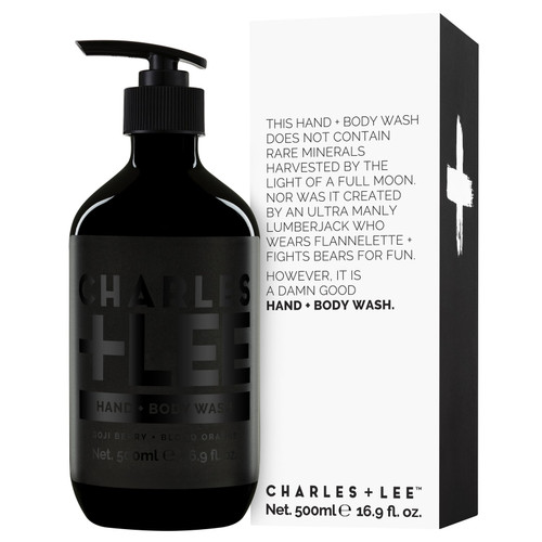 CHARLES + LEE - Hand + Body Wash