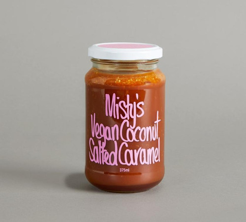 MISTY'S SALTED CARAMEL - Vegan Coconut Salted Caramel
