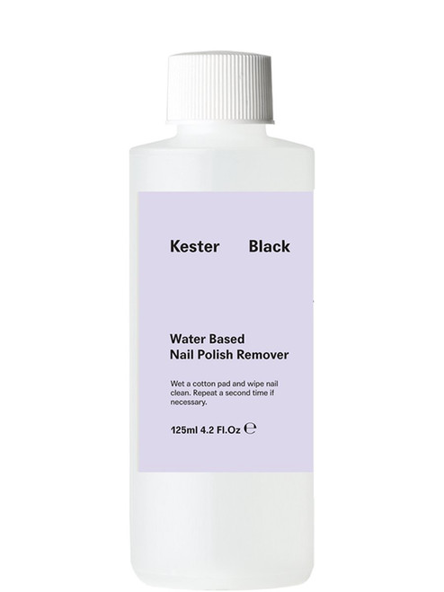 KESTER BLACK - Remover - Water Based Nail Polish Remover