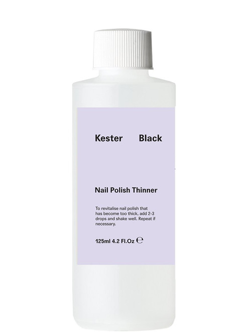 KESTER BLACK - Thinner- Nail Polish Thinner