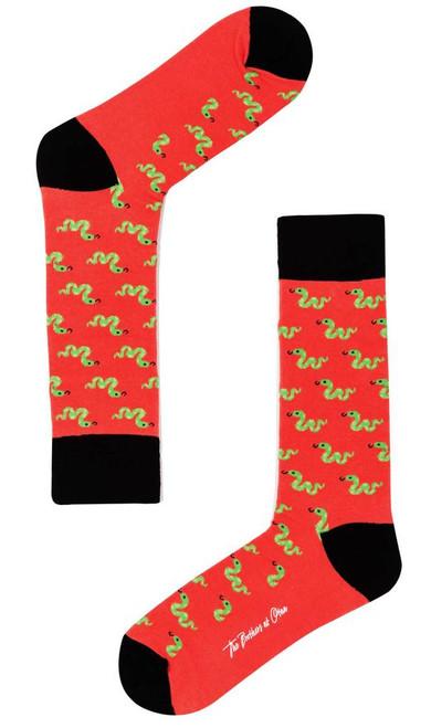 OTAA - Snake In The Grass Lava Socks