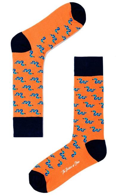 OTAA - Gummy Snake Orange Socks