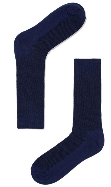 OTAA - Navy Blue Textured Socks