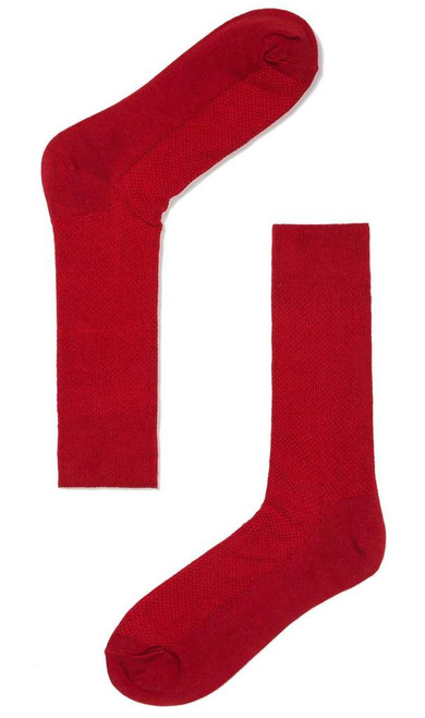 OTAA -Red Textured Socks