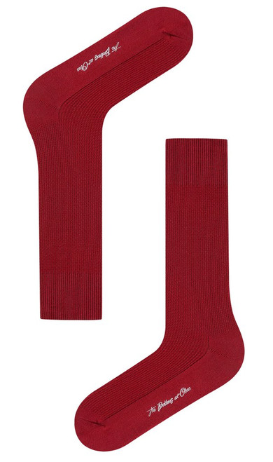 OTAA - Burgundy Textured Socks