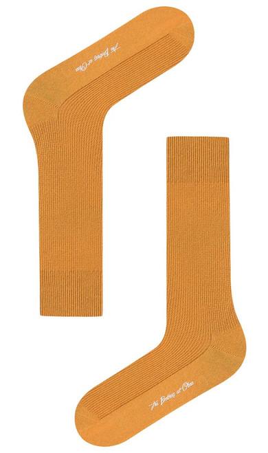 OTAA - Mustard Yellow Textured Socks