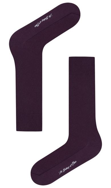 OTAA - Plum Purple Textured Socks
