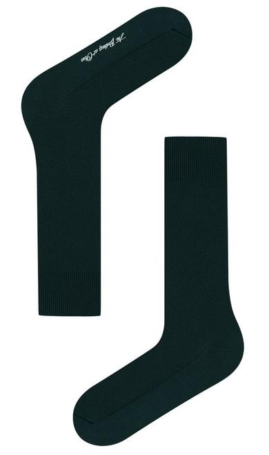 OTAA - Dark Peacock Green Textured Socks