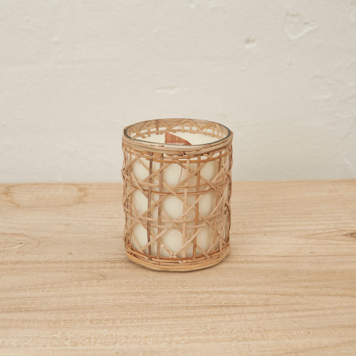 INARTISIAN - Medium Rattan - Scented Candle (3 Fragrance Options)