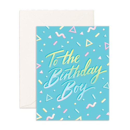 FOX & FALLOW - To The Birthday Boy Greeting Card