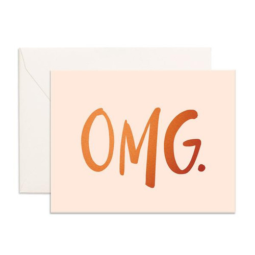 FOX & FALLOW - OMG Greeting Card