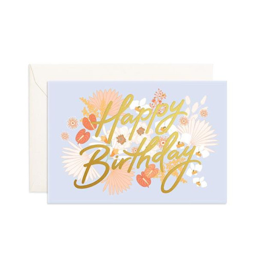 FOX & FALLOW - Mini Happy Birthday Greeting Card