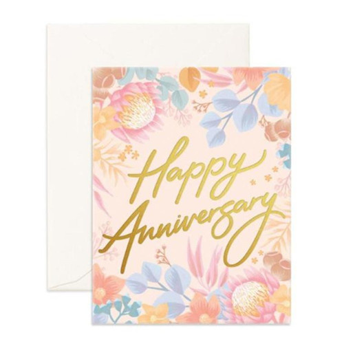 FOX & FALLOW - Happy Anniversary Greeting Card