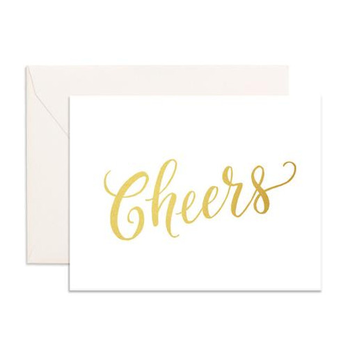 FOX & FALLOW - Cheers Greeting Card