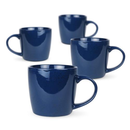 ROBERT GORDON - Set of 4 Mugs in Blue Granite