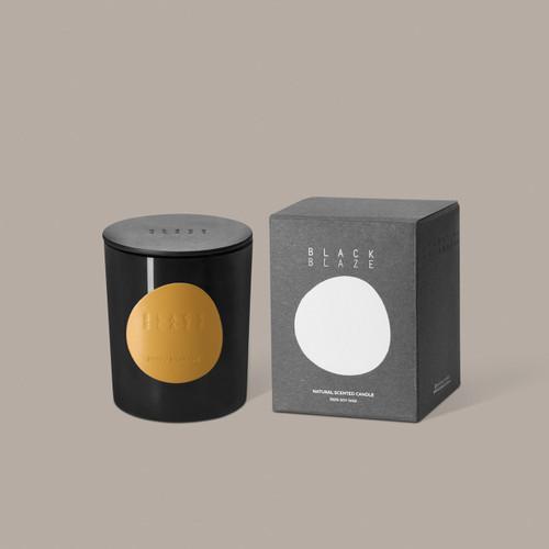 BLACK BLAZE - Scented Candle - Neroli Bigarade