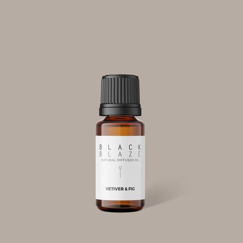 BLACK BLAZE - Diffuser Oil - Vetiver Fig