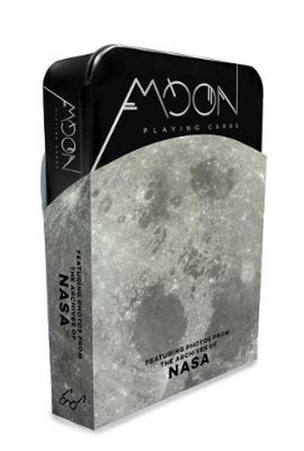PLAYING CARDS - MOON / NASA