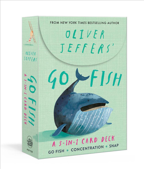 PLAYING CARDS - go Fish by Oliver Jeffers