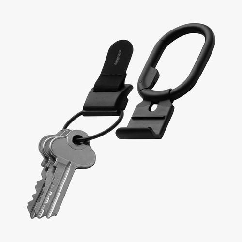 ORBIT KEY - Key Clip v2 - All Black Carabiner