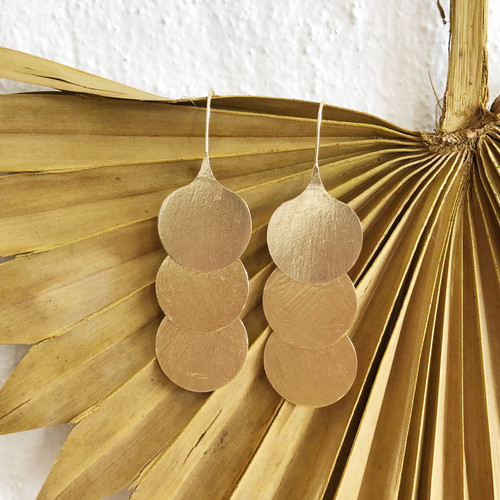INARTISAN - SIVIA EARRING - GOLD