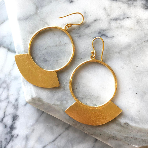 INARTISAN - NELL EARRING - GOLD