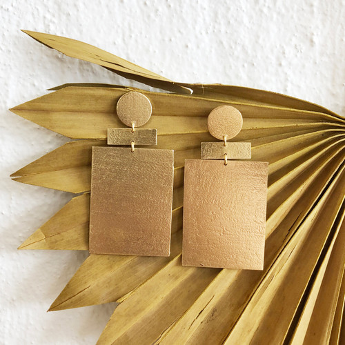 INARTISAN - ZEV EARRING - GOLD