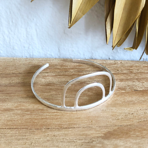INARTISAN - ARCUS CUFF BRACLET - SILVER
