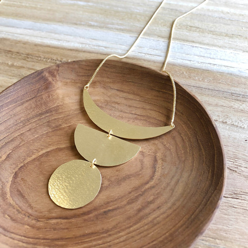 INARTISAN - TAJA NECKLACE - GOLD