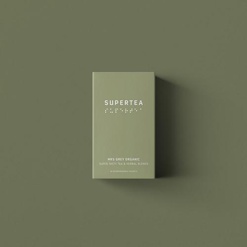 SUPERTEA - Mrs Grey Bergamont Organic Tea