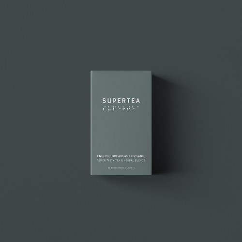 SUPERTEA - English Breakfast Organic Tea