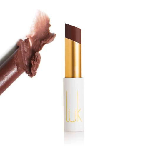 LUK BEAUTIFOOD - Lip Nourish Natural Lipstick - Vanilla Chocolate