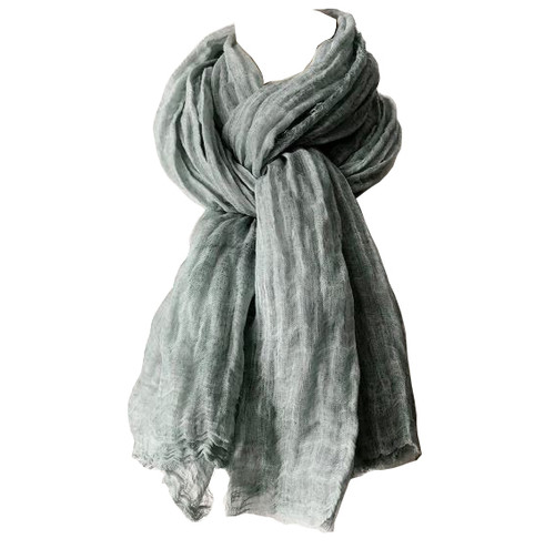 RAYELL - Scarf in Dusty Turquoise