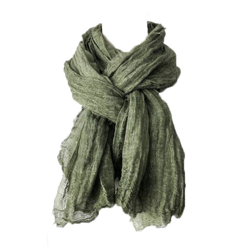 RAYELL - Scarf in Olive Green
