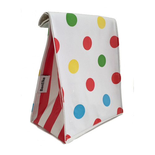BEN ELKE - Red Confetti Lunch Bag
