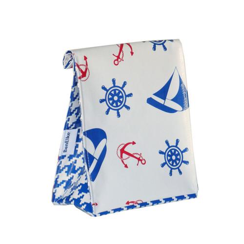 BEN ELKE - Nautical Blue Lunch Bag
