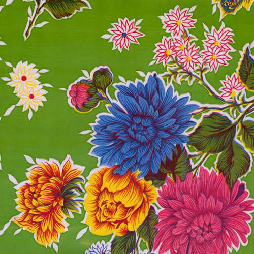 BEN ELKE - Sweet Flower Yellow Tablecloth 120cm x 250cm