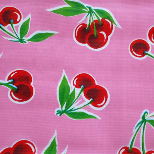 BEN ELKE - Cherry Pink Tablecloth 120cm x 250cm