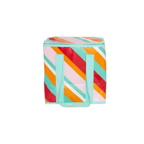 PROJECT TEN - Insulated Shopping Tote in Candy Stripes