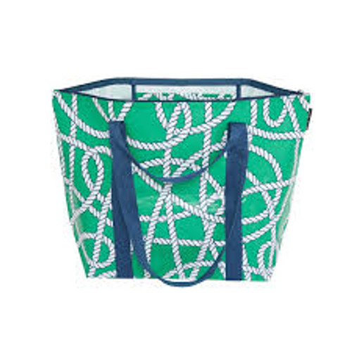 PROJECT TEN - Medium Zip up Tote Bag in Ropes