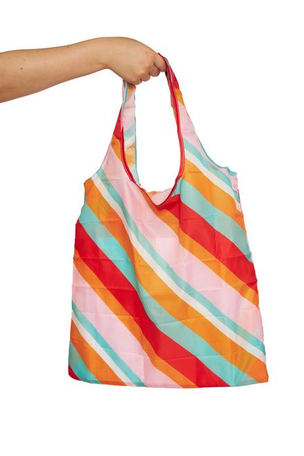 PROJECT TEN - Pocket Shopper in Candy Stripe